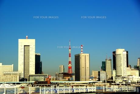 東京タワーの写真素材 [FYI00207831]