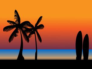 ハワイアンの素材 [FYI00207872]