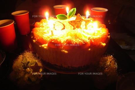 クリスマスケーキの写真素材 [FYI00207899]
