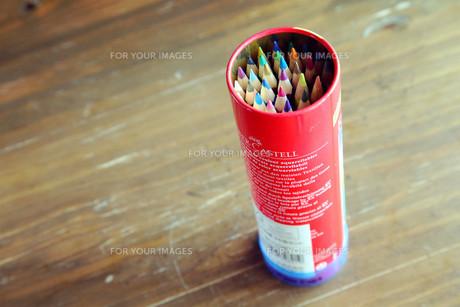 色鉛筆の写真素材 [FYI00207914]