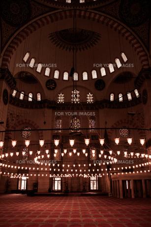 イスタンブール スレイマニエ・モスクの写真素材 [FYI00207915]