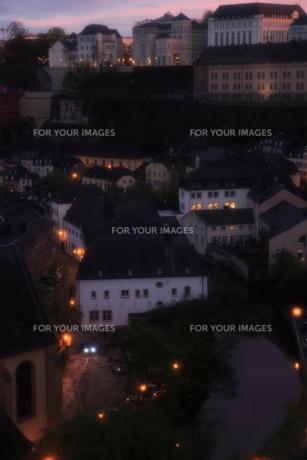 ルクセンブルクの街並の素材 [FYI00207925]