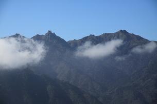 太鼓岩より見た宮之浦岳の写真素材 [FYI00207968]