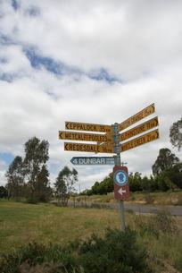 オーストラリア イメージ道標の写真素材 [FYI00208083]