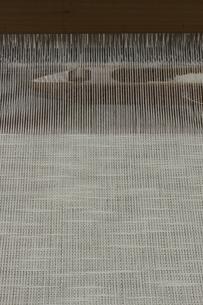機織り作業の本織りの写真素材 [FYI00208954]