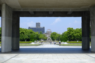 広島平和公園の写真素材 [FYI00209149]
