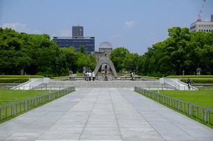 広島平和公園の写真素材 [FYI00209151]