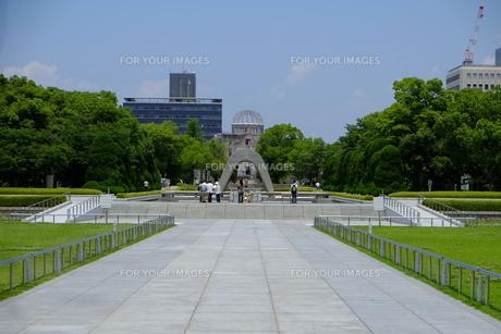 広島平和公園の写真素材 [FYI00209166]