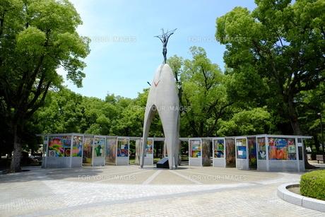 原爆の子の像の写真素材 [FYI00209177]