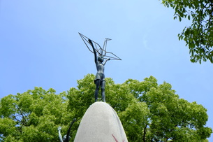 原爆の子の像の写真素材 [FYI00209178]
