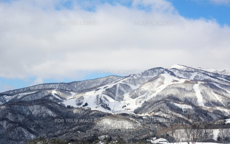 雪山の素材 [FYI00209607]