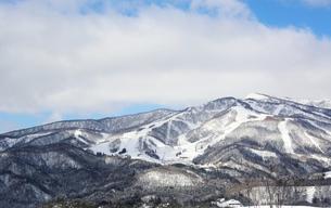 雪山の写真素材 [FYI00209607]