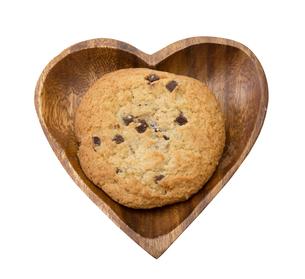 チョコレートチップクッキーの写真素材 [FYI00209652]