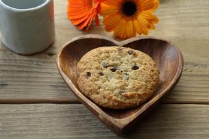 チョコチップクッキーの写真素材 [FYI00209655]
