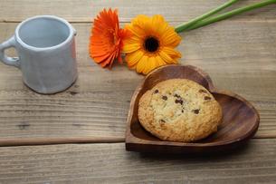 チョコチップクッキーの写真素材 [FYI00209677]