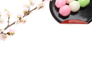三色ダンゴの写真素材 [FYI00209711]