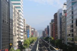 台北の町並みの写真素材 [FYI00209883]