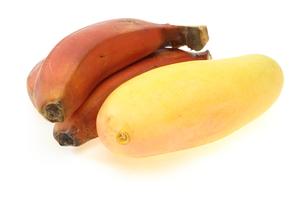 マンゴーとバナナの写真素材 [FYI00209973]