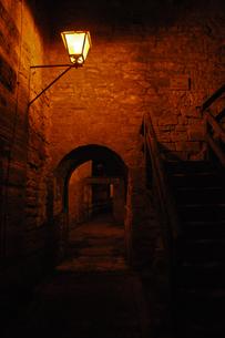 城壁への階段の写真素材 [FYI00210360]