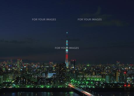 TOKYO SKYTREE〜キャンドルツリー〜の写真素材 [FYI00210433]