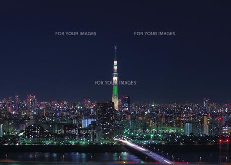 TOKYO SKYTREE〜クリスマス・シャンパンゴールド〜の写真素材 [FYI00210434]