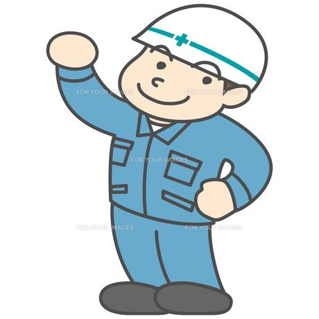作業服の男性の写真素材 [FYI00210456]