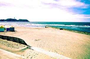 神奈川県の鵠沼海岸の写真素材 [FYI00210573]