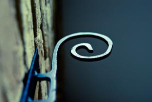 うずまき状の装飾の写真素材 [FYI00210592]