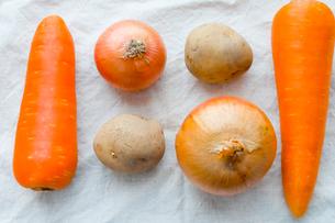 タマネギ、ニンジン、ジャガイモの写真素材 [FYI00210594]