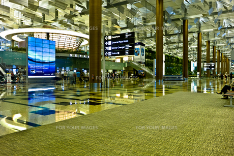 シンガポール・チャンギ空港の写真素材 [FYI00210618]