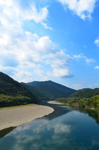 四万十川の写真素材 [FYI00210629]