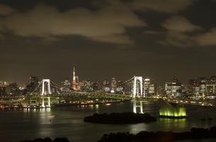 東京タワーとレインボーブリッジの写真素材 [FYI00210631]