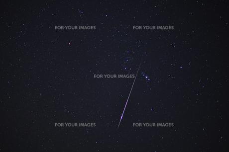 オリオン座流星群の写真素材 [FYI00210633]