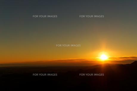 日の出の写真素材 [FYI00211540]