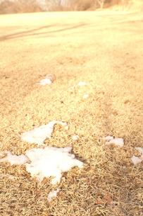 残雪の写真素材 [FYI00211570]