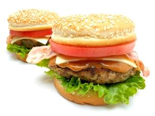 ハンバーガーの写真素材 [FYI00211643]