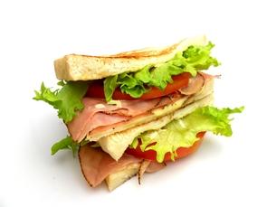 サンドイッチの写真素材 [FYI00211644]