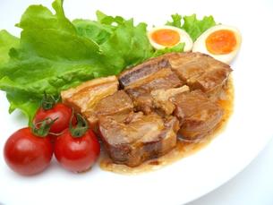 豚の角煮の写真素材 [FYI00211654]