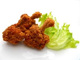 鶏の唐揚げの写真素材 [FYI00211667]