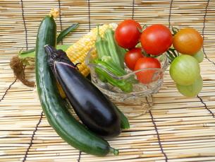 夏野菜の写真素材 [FYI00211690]