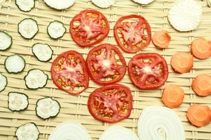 干し野菜の写真素材 [FYI00211907]