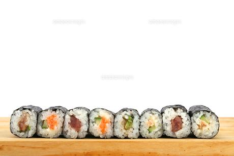巻き寿司の写真素材 [FYI00212227]