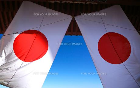 日の丸 日本国旗の写真素材 [FYI00212406]