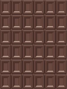 チョコレート一面の写真素材 [FYI00212742]