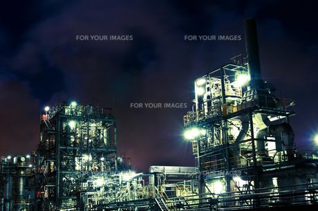 工場の要塞の写真素材 [FYI00212753]