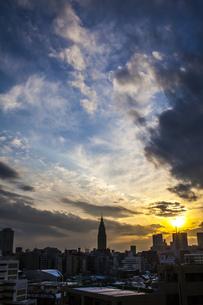 新宿のSORA#4の写真素材 [FYI00212833]