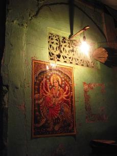 ヒンズー教の神ドゥルガ−の写真素材 [FYI00212911]
