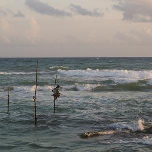 stilt fishingの写真素材 [FYI00212932]