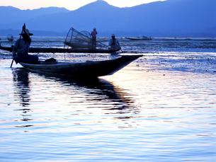 インレー湖の写真素材 [FYI00212941]