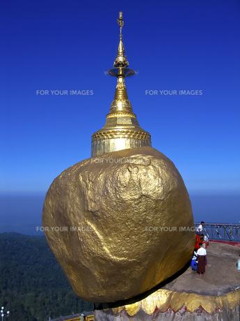 Golden Rockの写真素材 [FYI00212945]